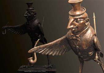 Anna Voloshko - Worthy Bronze, Sculpture