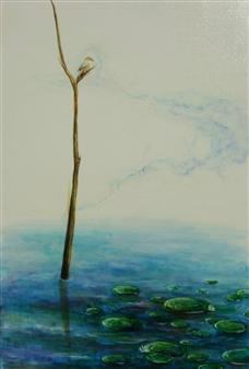 Kenji Inoue - Mozubotch Oil on Canvas, Paintings