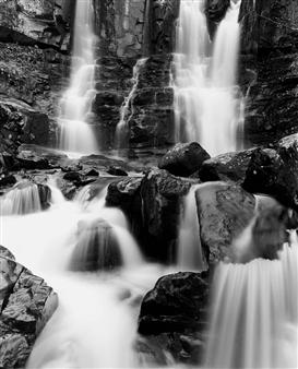 Antonio Biagiotti - Waterfall Gelatin Silver Print, Photography