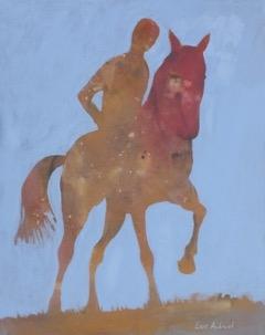 Lars Aukrust - Untitled 3 Acrylic on Canvas, Paintings