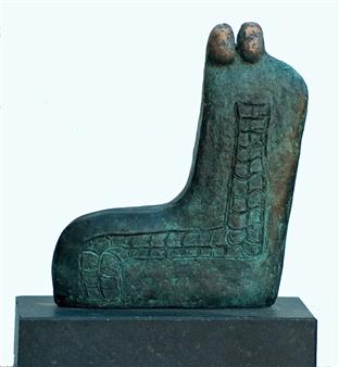 Yetty Elzas - Silhouette VII Bronze, Sculpture