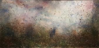Isabelita - Earth Cosmogony Mixed Media on Canvas, Mixed Media