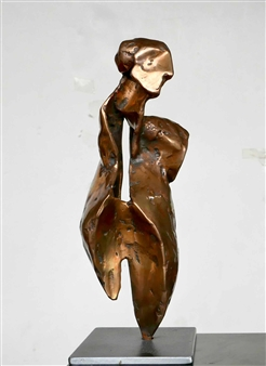 Helgi Gíslason - Torso Bronze, Sculpture