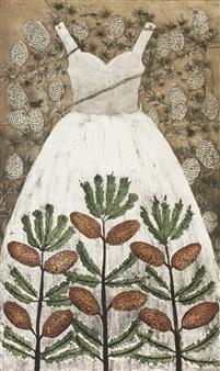 Kirsi Neuvonen - Kapypuku (Cone Dress) Etching on Paper, Prints
