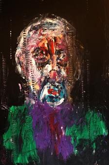 Philippe Thélin - Ghostly Acrylic on Canvas, Paintings