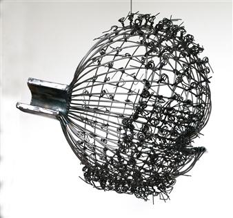 Helgi Gíslason - Orbit Iron, Sculpture