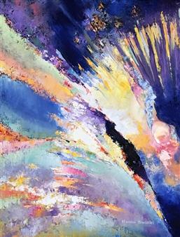 Monika Gloviczki - Genesis Oil on Canvas, Paintings