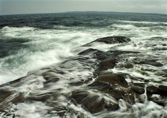 Chet B. Simpson - Cape Neddick Photograph on Plexiglass, Photography