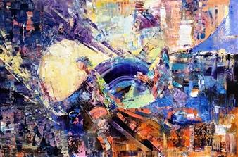 Monika Gloviczki - Knight Oil on Canvas, Paintings