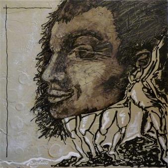 Regina Krugel - Culture Transfer Acrylic on Canvas, Paintings