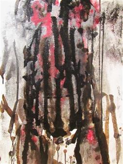 Sarah Elyse Granetz - Size Matters Acrylic on Canvas, Paintings