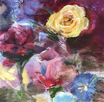 Lauralee Franco - Spring Roses Giclee Print, Prints