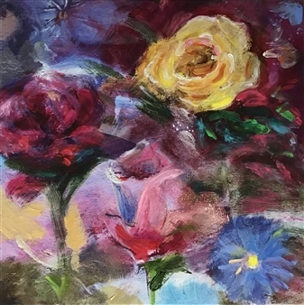 Lauralee Franco - Roses of Spring Giclee Print, Prints