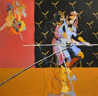 Cristina Prieto Crespi - Nada Es Lo Que Parece Oil on Canvas, Paintings