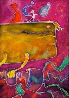 Roger Roth - L'oeil étonné du Coelacanthe Inkjet Print on Hahnemühle Paper, Prints