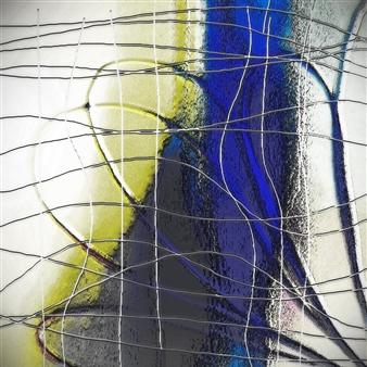 Vanitira - Delicate Prison Digital Artwork on Canvas, Digital Art