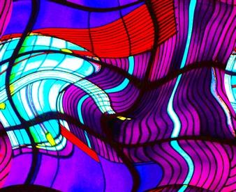 Howard Harris - Mindscape 7 Digital Print on Aluminum, Digital Art