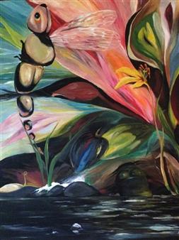 Helen Rosenkranz - Untitled 11 Oil on Canvas, Paintings