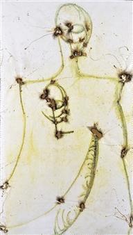 Burhan Khan - Frame - Hawk Digital Print on Canvas, Prints