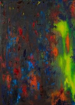 Irina Goryunova - Jupiter. Polar Lights Oil on Canvas, Paintings