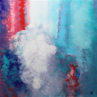 A. Cornelia Weigle - Satisfaction Acrylic on Canvas, Paintings