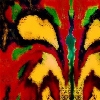 Vanitira - Ave Paraiso Digital Artwork on Canvas, Digital Art
