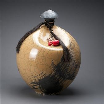 Susie Kadish - 10-Untitled Ceramic, Sculpture