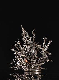 Banjerd Lekkong - Ravana's Talking Iron, Sculpture