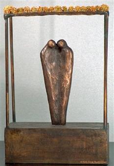 Yetty Elzas - The Jewish Bride Bronze, Sculpture