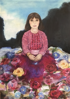 Lauralee Franco - Among the Roses Giclee Print, Prints