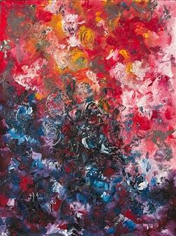 Irina Goryunova - Kamchatka. Khuvkhoitun. Eruption Oil on Canvas, Paintings