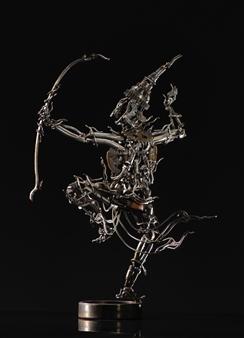 Banjerd Lekkong - Phra Ram Arrow Shooting Iron, Sculpture