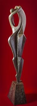 Maria Bayardo - Il Bacio (El Beso) (The Kiss) Bronze, Sculpture