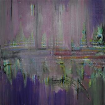 Sherry Rinderer - Pulchritudinous Acrylic on Canvas, Paintings