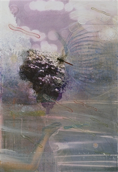 Sheree Friedman - They Emerge A - Left Panel (triptych) Plexi-Sandwiched Print on Resin Coated Paper, Other Category