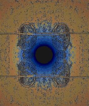 Vanitira - Centerland Digital Artwork on Canvas, Digital Art