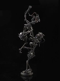 Banjerd Lekkong - Muay Thai of Woman Iron, Sculpture