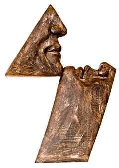 German Arzate - Pasion (Passion) Bronze, Sculpture