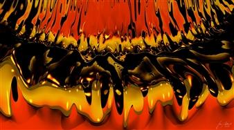 Stan Adard - Juke Flow Digital Breathing Picture, Digital Art