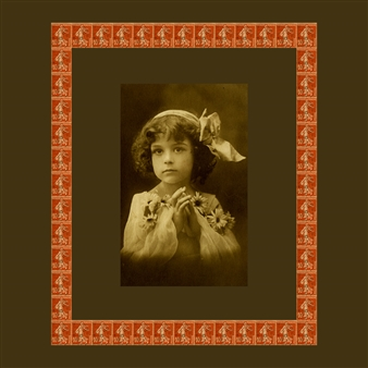 Wallace - Girl with Red Stamps, circa 1920 Photographic Print on Fine Art Paper, Prints