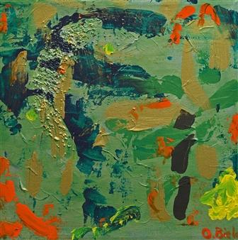 Oliwia Biela - Katzones Kanzone Oil & Acrylic on Canvas, Paintings