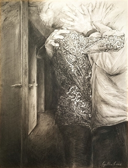 Cynthia Evers - Juste Deux Crayon on Board, Drawings