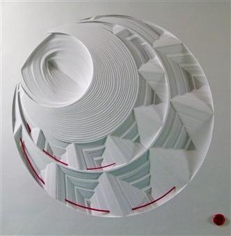 Jacky Cheng - Red Lantern Paper, Mixed Media