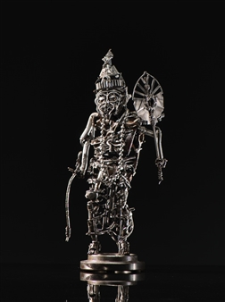 Banjerd Lekkong - The Hermit Narod Iron, Sculpture
