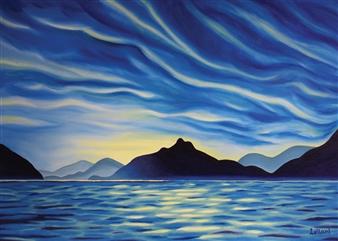 Leilani - Anvil Island Stormclouds Print on Canvas, Prints