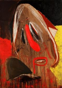 Oliwia Biela - Spiegelbild Acrylic, Oil & Pastel on Canvas, Paintings