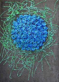 Birsen Yurdaer - 050 Mixed Media on Canvas, Mixed Media