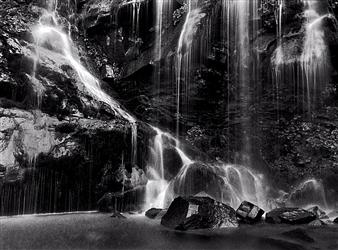 Antonio Biagiotti - Waterfall 2 Gelatin Silver Print, Photography
