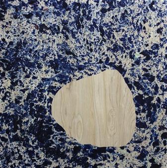 Catherine Harasymiw - Empty Spaces Oil on Wood, Paintings