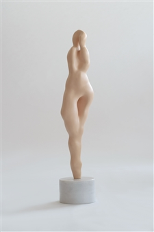 Şebnem Keçeli - Gene Painted Bronze, Sculpture